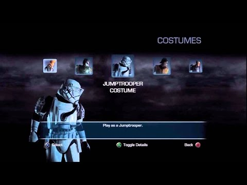 <b>Unlock</b> Costumes <b>Star Wars Force Unleashed</b> 2 / <b>Star</b> Outfits