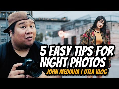 5 Easy Tips for Taking Better Night Photos