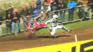 Grisly Motocross Crashes