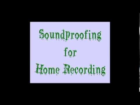How to soundproof for home recording