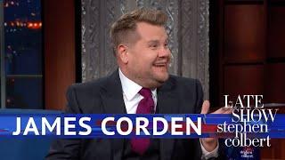 James Corden Rates Trump