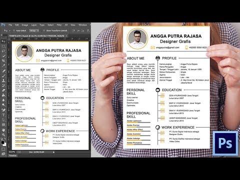 Cara Membuat CV Dengan Photoshop