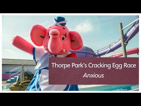 Thorpe Park's Cracking Egg Race - Anxious