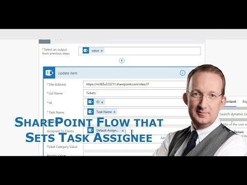 SharePoint Flow that Sets Assignee by Issue Category