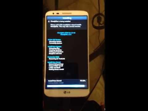 LG G2 Fastboot Mode Started Solved