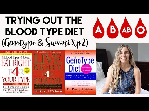 Trying Out The Blood Type Diet (GenoType & Swami XP2)