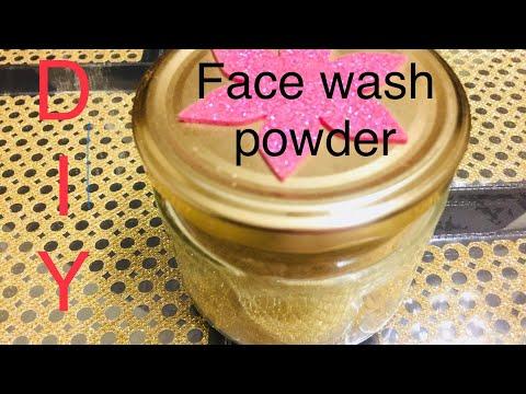 Best Homemade Herbal Facewash Powder for Oily And Dry Skin|DIY skin Lightening Facewash