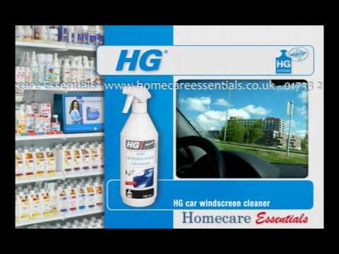 HG Hagesan Car Windscreen Cleaner - How to clean car windscreen