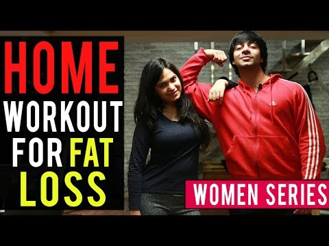 Women's FAT LOSS Workout At HOME! (FULL BODY) | AESTHETICALLY