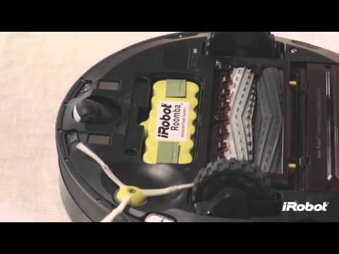 iRobot Roomba® 800 Series - How To Remove and Install Battery