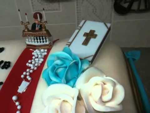 Bible Communion Cake