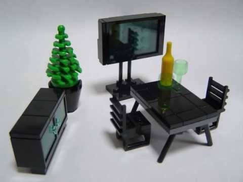 How to make Lego furniture 4