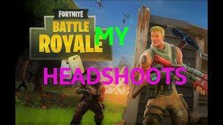 Headshoots in Fortnite