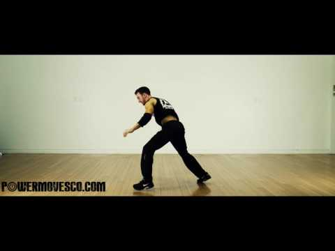Learn How to Elbow Spin- Bboy/Breakdance tutorial with Simonster Powermove Tutorials