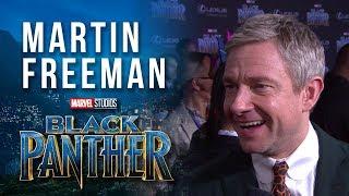 Martin Freeman at Marvel Studios