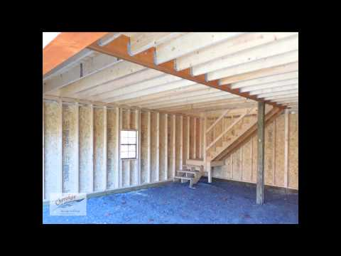 Cherokee Storage Two Story Garage