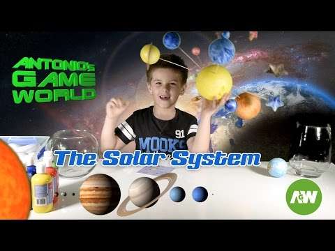 Build a Solar System for kids: Planets and Stars for fun! Interesting facts about space!