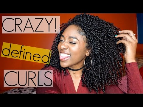 Shingling Method for Crazy Defined Curls| Natural Hair