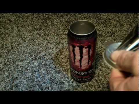 MONSTER ENERGY DRINK Can Safe Made Easy