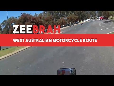 WA Motorcycle Licensing Assessment Route
