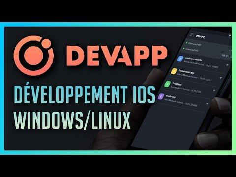 Ionic DevApp : Développer une application iOS sur Windows et Linux !