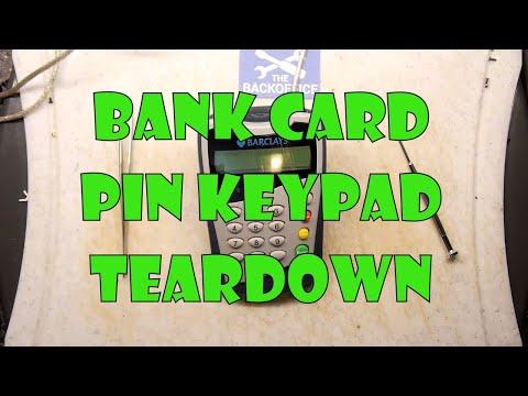 Teardown Lab - Barclays Bank Pinpad Hacked Apart!