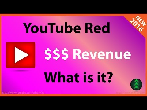 What is YouTube Red Revenue?