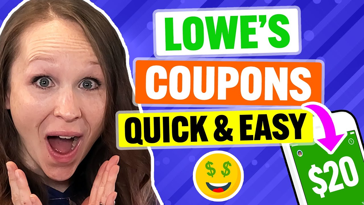 Lowe's Coupon & Promo Code 2021: MAX Discount For In-Store or Online!
