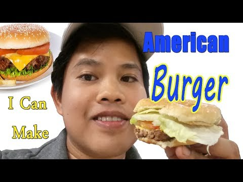 How to make american burgers
