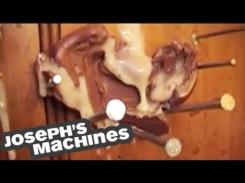 Creme That Egg! | How To Squish A Creme Egg! | Joseph's Machines