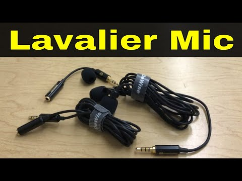 PowerDeWise Lavalier Microphone Review-Great Mic With A Long Cord