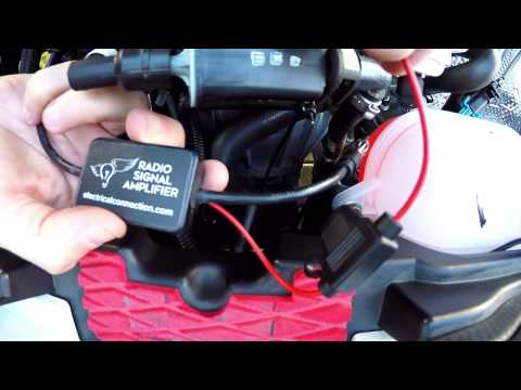 AM / FM Radio Signal Amplifier for the Polaris Slingshot