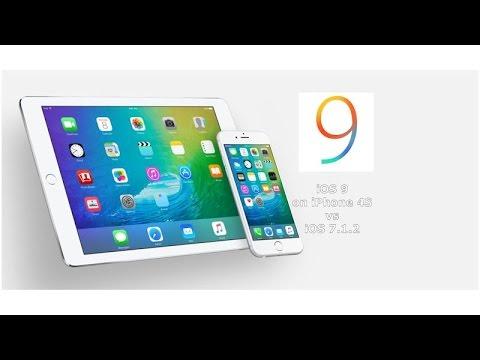 iOS 9 Beta vs 7.1.2 on iPhone 4S