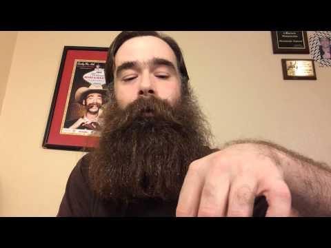 Coconut oil as a beard oil