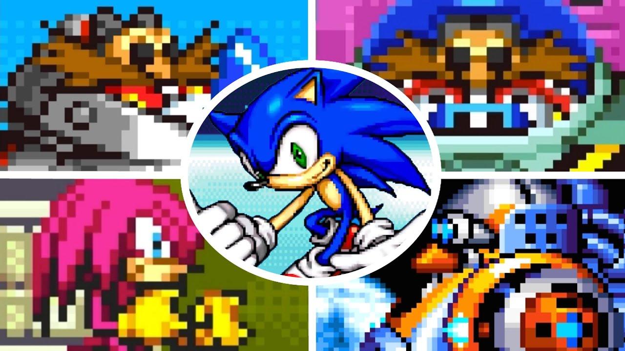 Sonic Advance - All Bosses (No Damage)