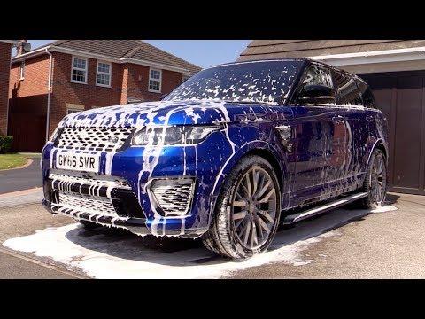 Range Rover Sport SVR Spotless Rinse
