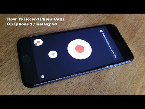 How To Record Phone Calls On Iphone 7 / Galaxy S8 - Fliptroniks.com