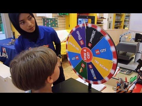 Lego Lottery at Legoland Store