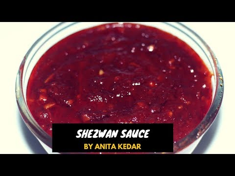 Schezwan Sauce Recipe | How To Make Schezwan Sauce At Home | Recipe By Anita Kedar