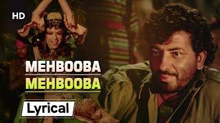 Mehbooba Mehbooba With Lyrics   मेहबूबा मेहबूबा    Sholay (1975)   Helen   Amjad Khan   Item Number