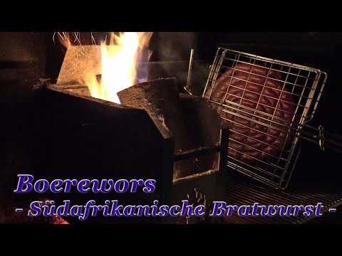 #288: Boerewors - Südafrikanische Bratwurst vom Braai