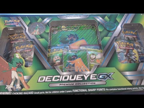 Pokemon Decidueye GX Premium Collection Opening - Giant Full Art Decidueye