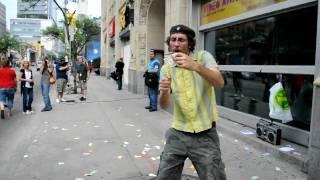 G20 Toronto - Burning Americans