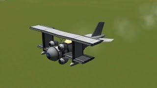 KSP - Classical Aerobatic Biplane Design