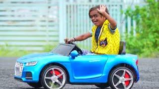 "CHOTU DADA KI CAR NO.1 |"" छोटू कार वाला "" Khandeshi hindi comedy | Chotu Dada Comedy Video"