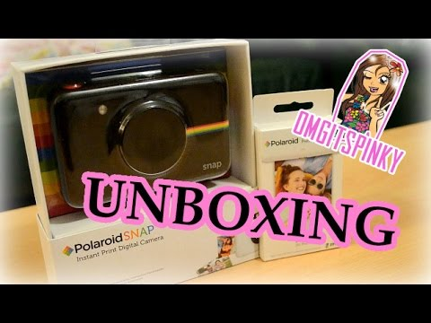 Polaroid Snap Instant Digital Camera - Unboxing