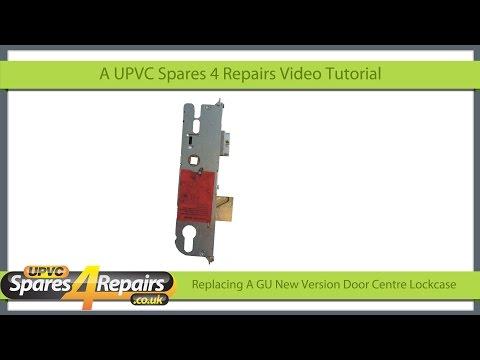 Replacing a GU New Version Upvc Door Lockcase