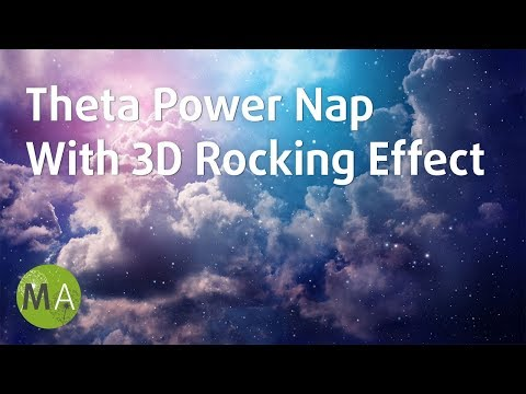 Theta Power Nap Music, Power Napping, Quickly Relax and Fall Asleep 3D Sleep Music