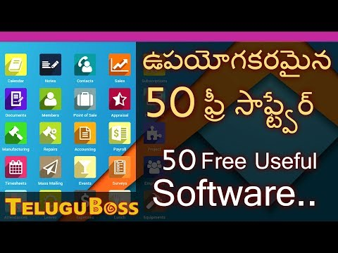 50 Free Software for almost Every use   Telugu Boss