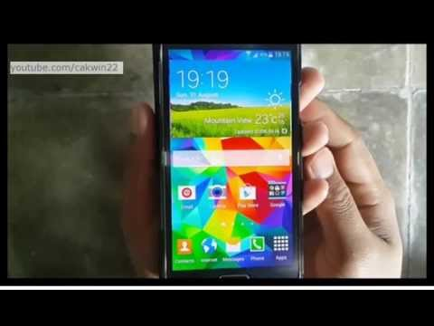Samsung Galaxy S5 : How to remove add icon to home screen for new apps (Android Phone)
